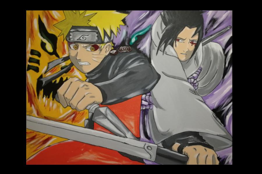 Naruto-Gemälde
