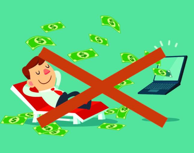 Warum passives Einkommen quatsch ist
